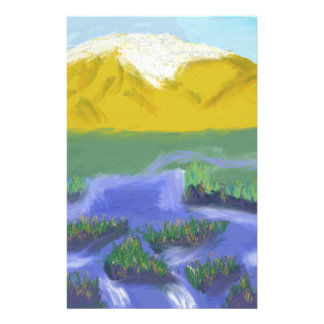 Mountain River Art Stationery