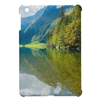 Mountain river green landscape iPad mini covers
