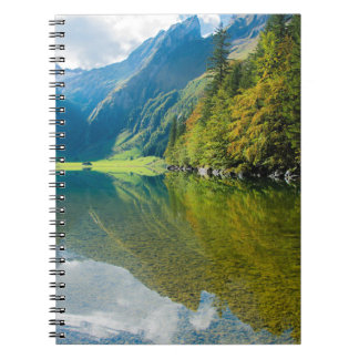 Mountain river green landscape notebooks