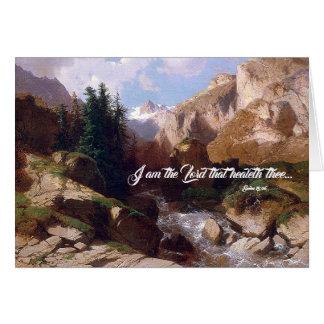 Mountain River Torrent God Heals Card