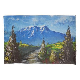 Mountain Road Pillowcase