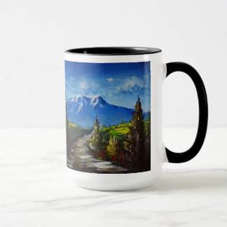 Mountain Road Scripture Mug