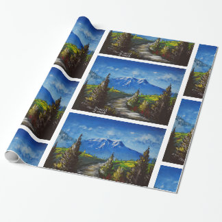 Mountain Road Wrapping Paper