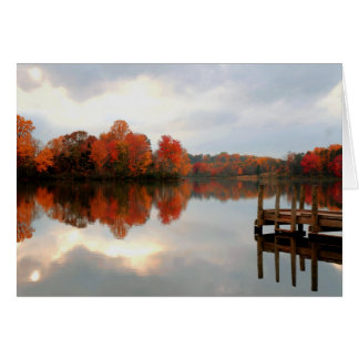 Mountain Run Lake Card