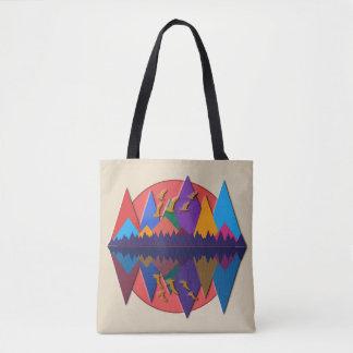 Mountain Scene #8 Tote Bag