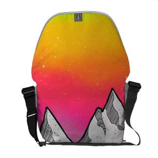 Mountain Scene Landscape Commuter Bag