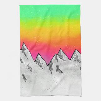 Mountain Scene Landscape Kitchen Towel