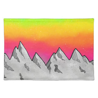 Mountain Scene Landscape Placemat