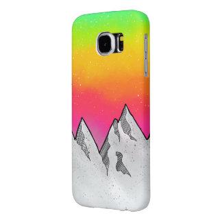Mountain Scene Landscape Samsung Galaxy S6 Cases