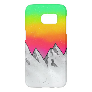 Mountain Scene Landscape Samsung Galaxy S7 Case
