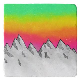 Mountain Scene Landscape Trivet