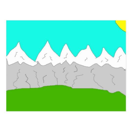 Mountain Scene Postcard