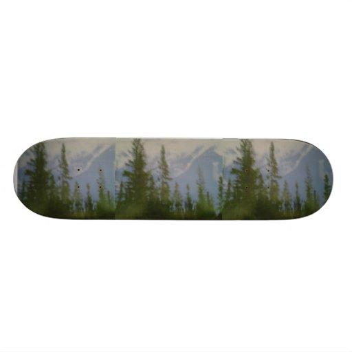 Mountain Scene Skateboard