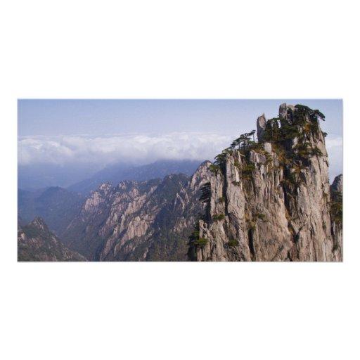 Mountain Scenery Photo card