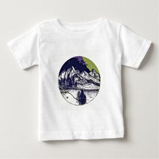 Mountain Sketch Baby T-Shirt