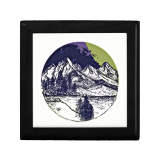 Mountain Sketch Gift Box