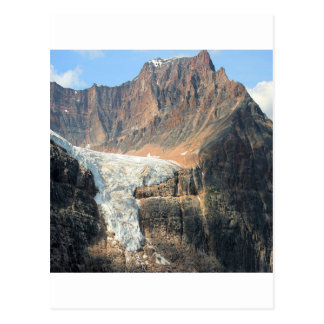 Mountain Snow Ice Cream Postcard