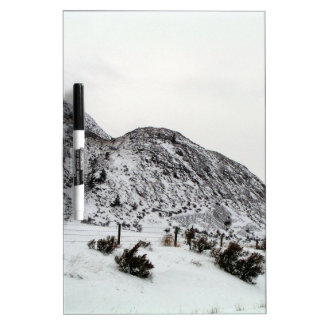 Mountain Snows in Canada Dry Erase Boards