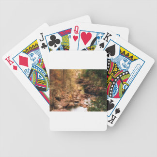 Mountain Stream Bicycle Playing Cards