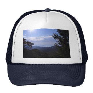 Mountain Sunrise Mesh Hat