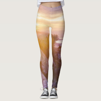 Mountain Sunset Leggings