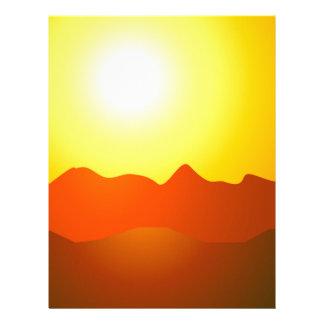 MOUNTAIN SUNSET LETTERHEAD