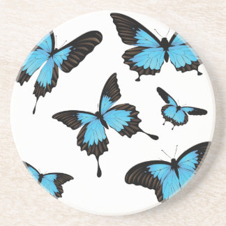Mountain Swallowtail Drink Coaster