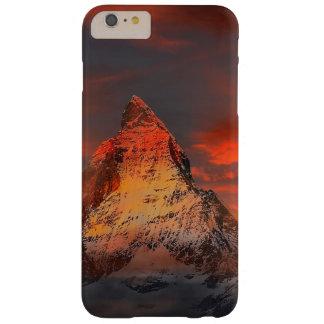 Mountain Switzerland Matterhorn Zermatt Red Sky Barely There iPhone 6 Plus Case