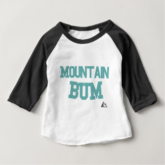 Mountain-Teal Baby T-Shirt
