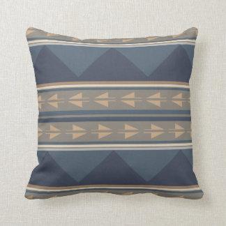 Mountain Tribal Pattern Pillow