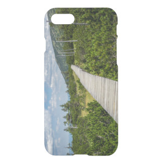 Mountain Tundra Wooden Path Landscape iPhone 7 Case