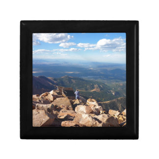 Mountain view at the top of Pikes Peak Gift Box