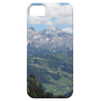 Mountain view of the italian Dolomites at summer iPhone 5 Case