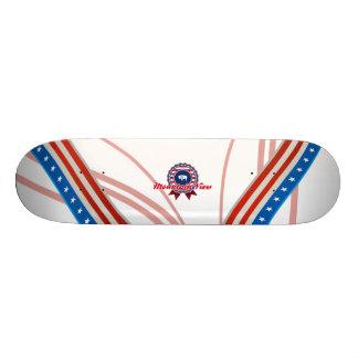 Mountain View, WY Skate Board Deck