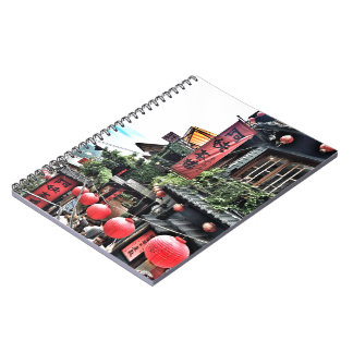 Mountain village and teahouse notebooks
