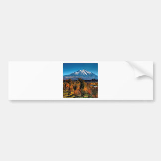 Mountain Warm Forest Cool Top Bumper Stickers