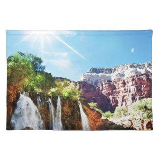Mountain Waterfall Placemat