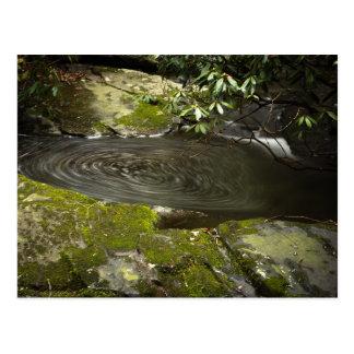 Mountain Whirlpool Postcard