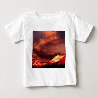 Mountain Wilber Glacier Park Montana Baby T-Shirt