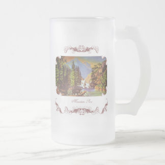 Mountain Wilderness Frosted Mug