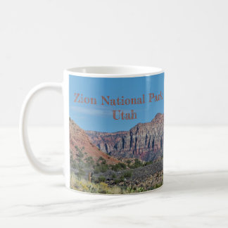Mountain Zion National Park Coffee Mug