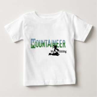Mountaineer In Training Baby T-Shirt