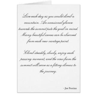 Mountaineering wedding invitation