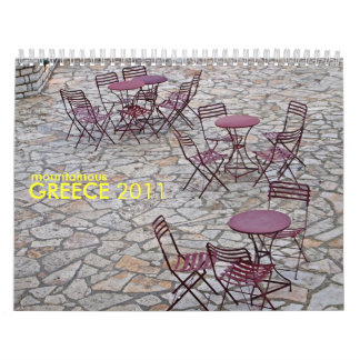 mountainous greece calendar