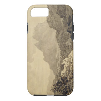 Mountainous Landscape, c.1780 (grey and brown wash iPhone 7 Case