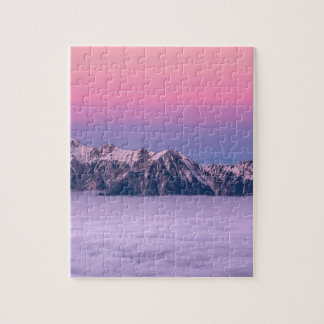 Mountains Above The Sky Jigsaw Puzzle