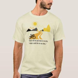 Mountains and Bike Men's Tee
