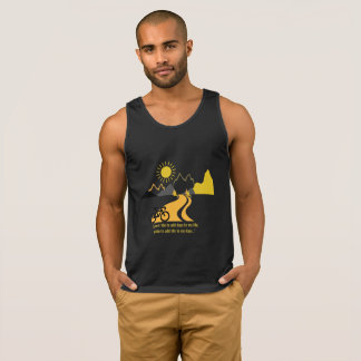 Mountains and Bikes Black Vest