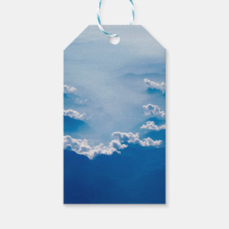 Mountains and Clouds Gift Tags