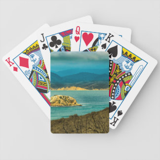 Mountains and Sea at Machalilla National Park Bicycle Playing Cards
